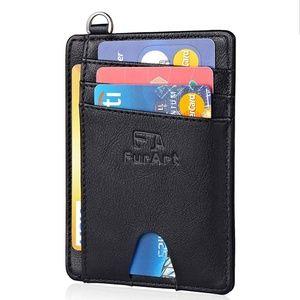Handbags - Ultra-Slim and Super Minimalist:FurArt front pocke